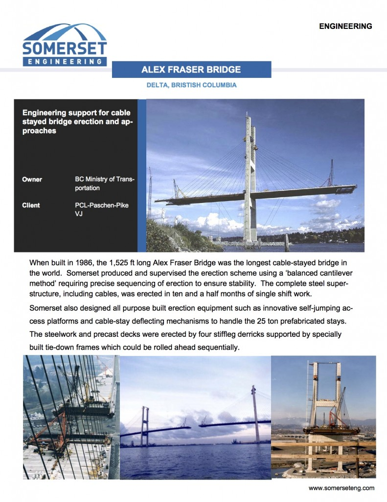 Alex Fraser Bridge Brochure