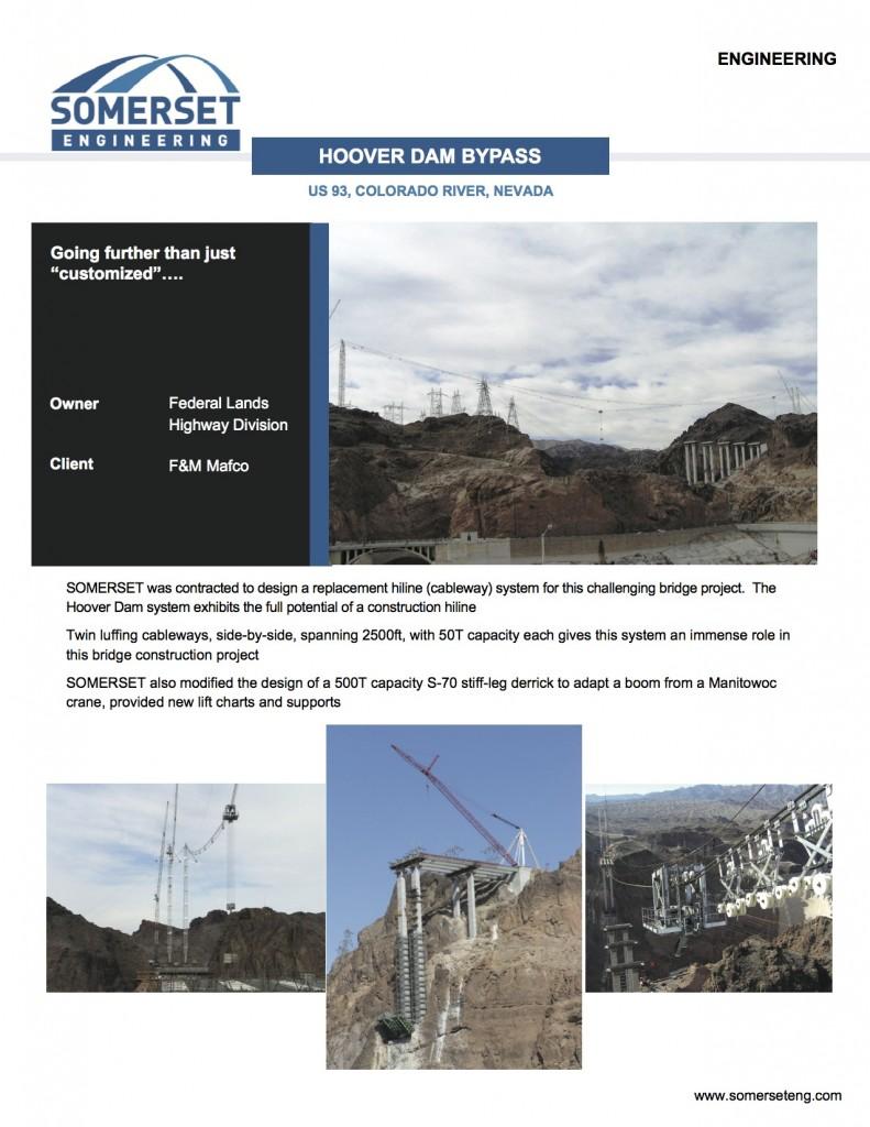 Hoover Dam Brochure